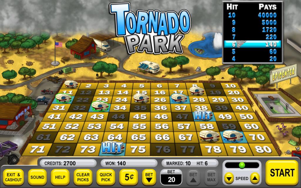 Tornado Park Keno